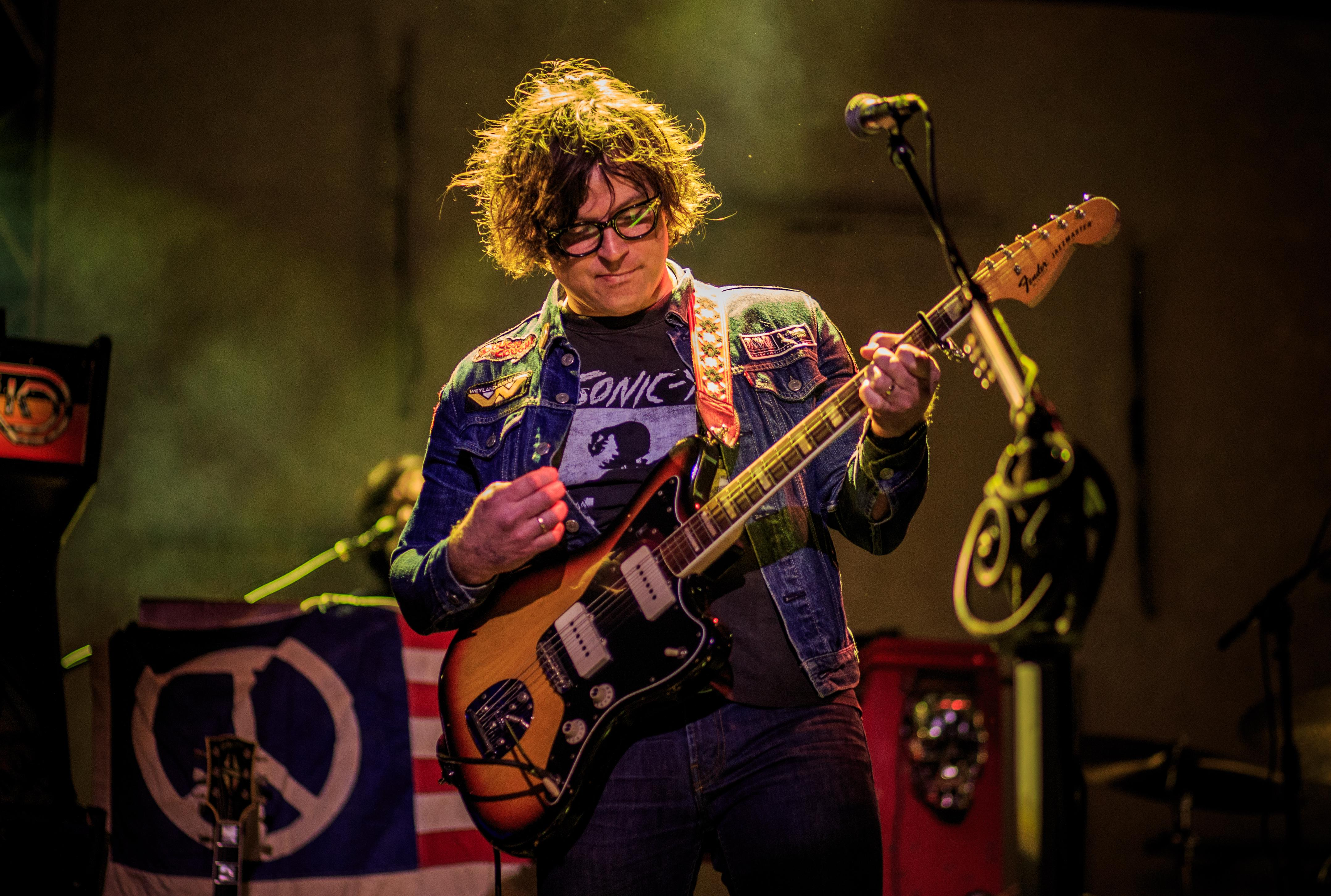 AUSTIN, TX - MARCH 16:  Singer-songwriter Ryan Adams performs at Music Is Universal presented by Marriott Rewards and Universal Music Group, during SXSW at the JW Marriott Austin on March 16, 2016 in Austin, Texas  (Photo by Christopher Polk/Getty Images for Universal Music)
