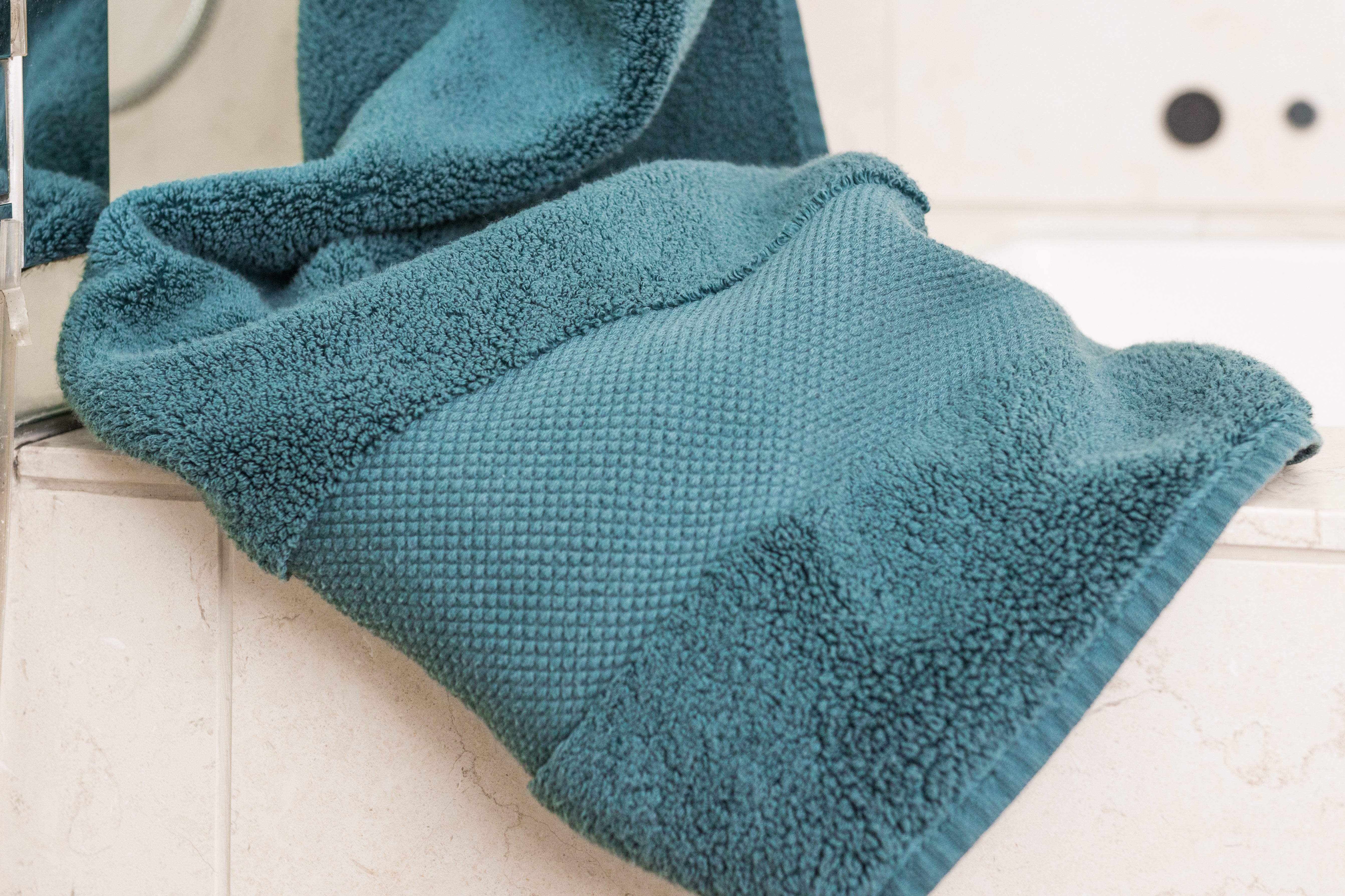 folded Frontgate Resort Cotton Towel