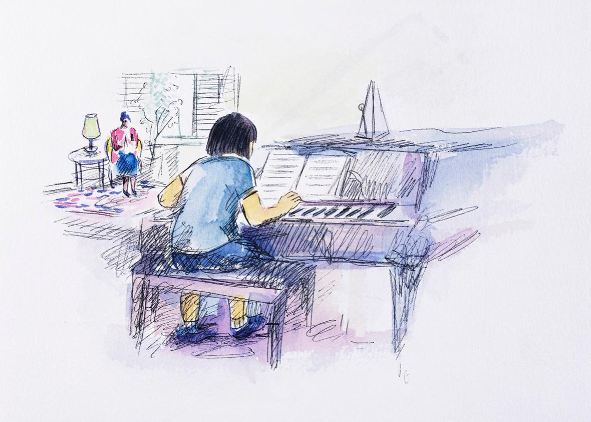 The Piano Lesson.
