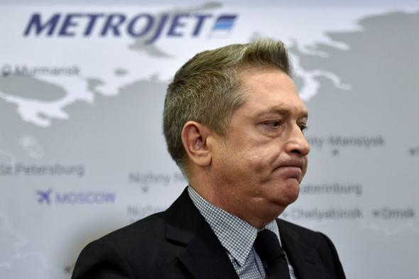 Metrojet director