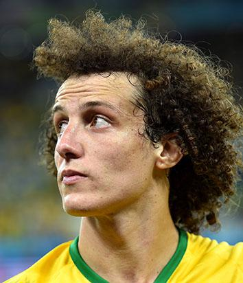 David Luiz of Brazil during the 2014 FIFA World Cup.