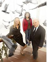 Joely Richardson, Justina Machado, and Stacy Keach.  Click image to expand.