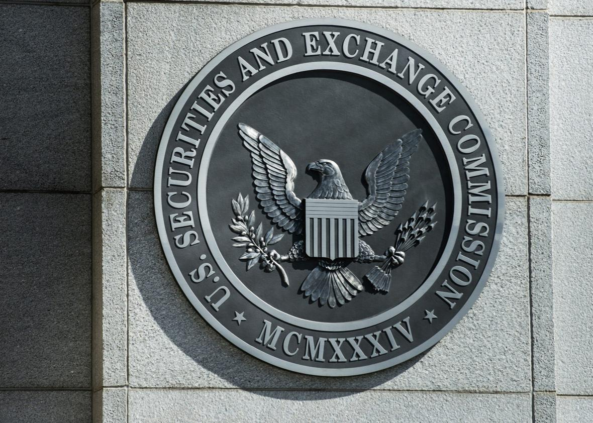 A view of the Securities and Exchange Commission headquarters May 3, 2013 in Washington, DC.