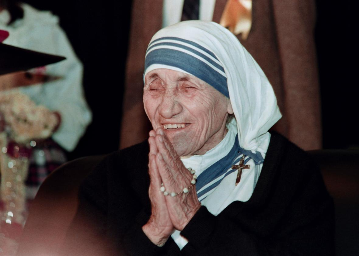 Mother Teresa: No saint.