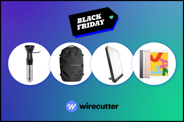 assorted Black Friday deal items