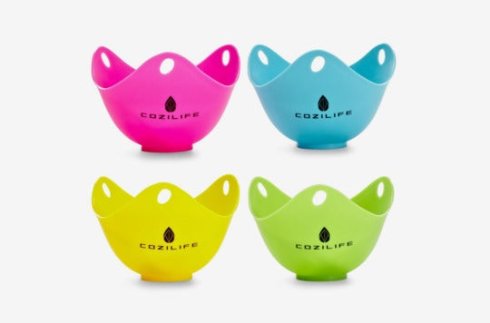 Cozilife Silicone Egg Poaching Cups.
