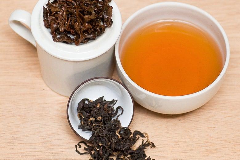 Blue Willow Tea Black Honey Oolong