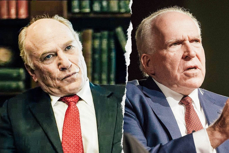 Ted Levine and John Brennan.