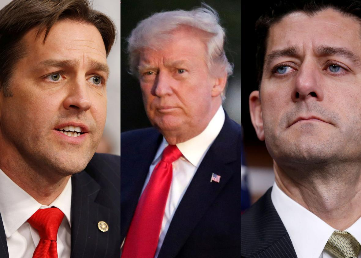 Ben Sasse, Donald Trump, and Paul Ryan