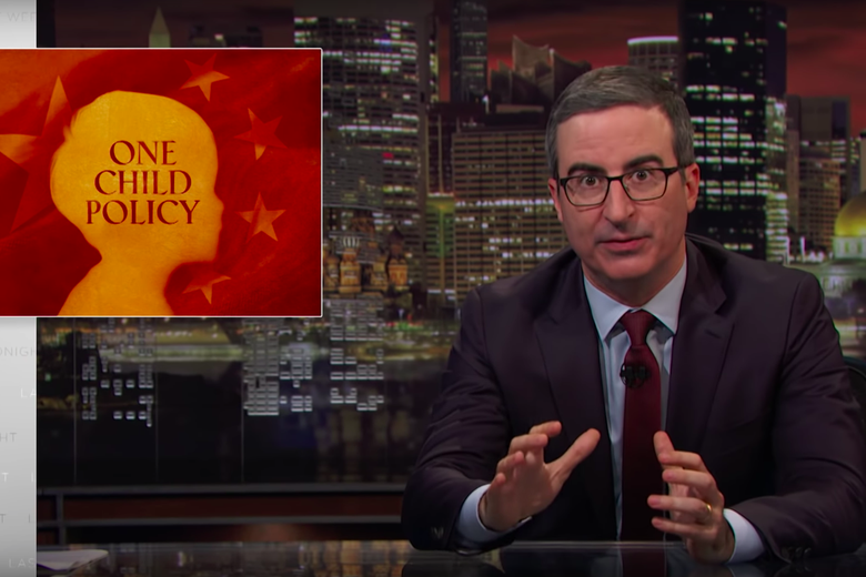 John Oliver Examines the Lingering Consequences of China's One-Child Policy
