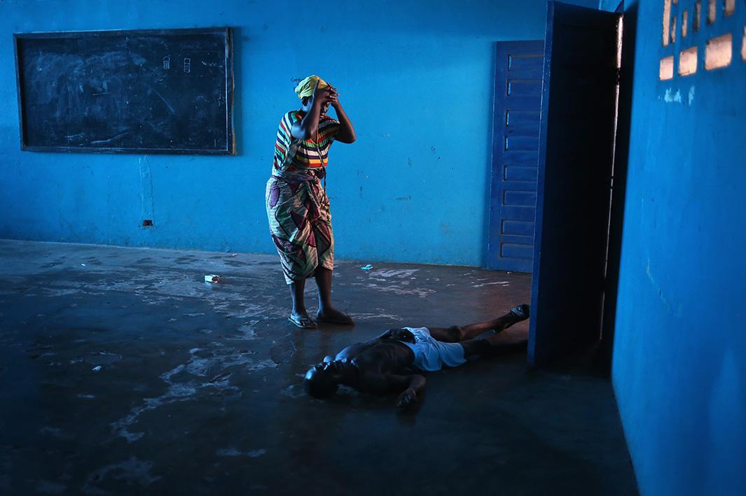 Aug. 15: 2014: Monrovia, Liberia
