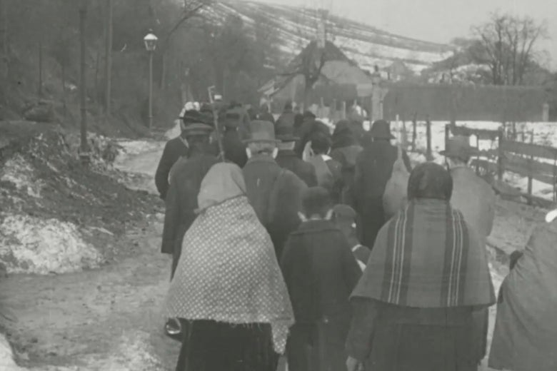 A still image from The City Without Jews.
