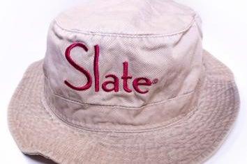 Slate logo bucket hat