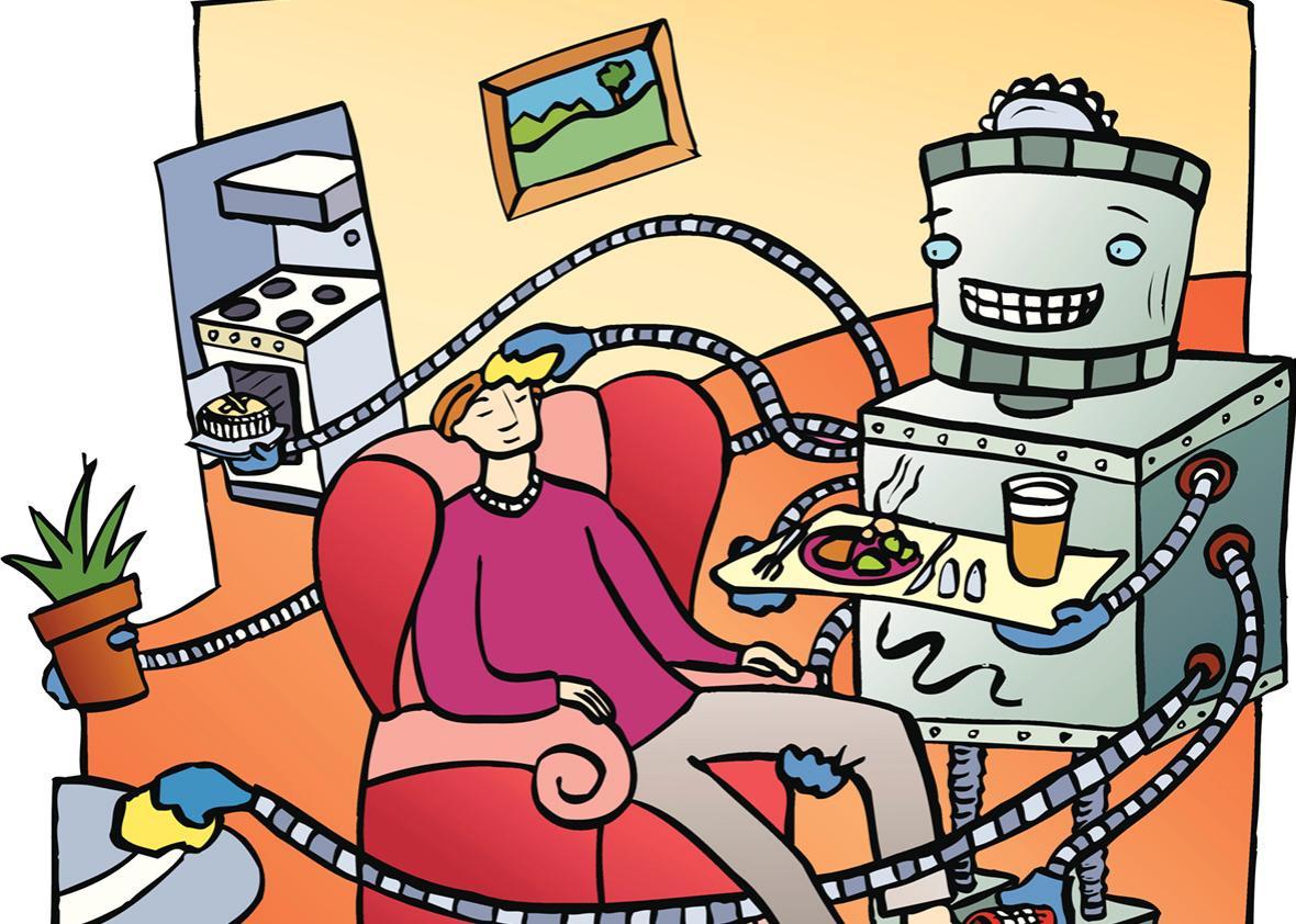 Robot Servant.
