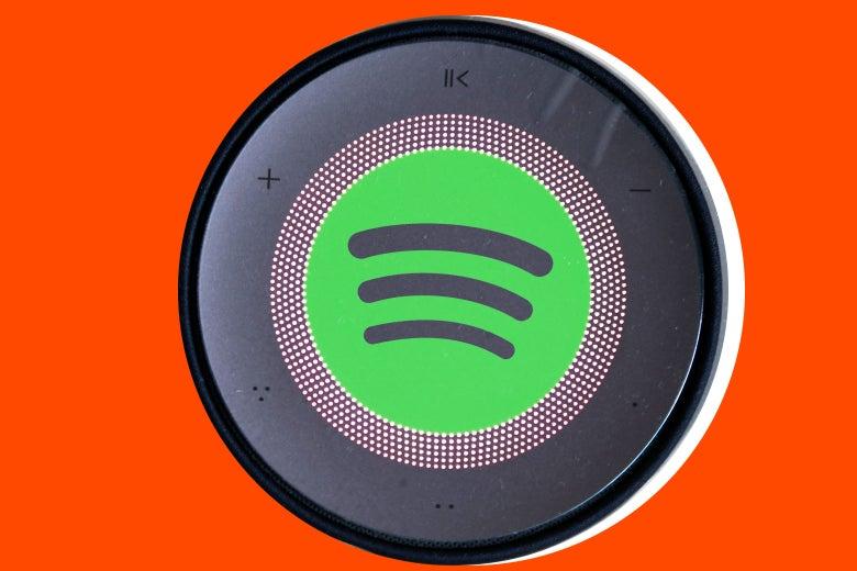 Spotify speaker.