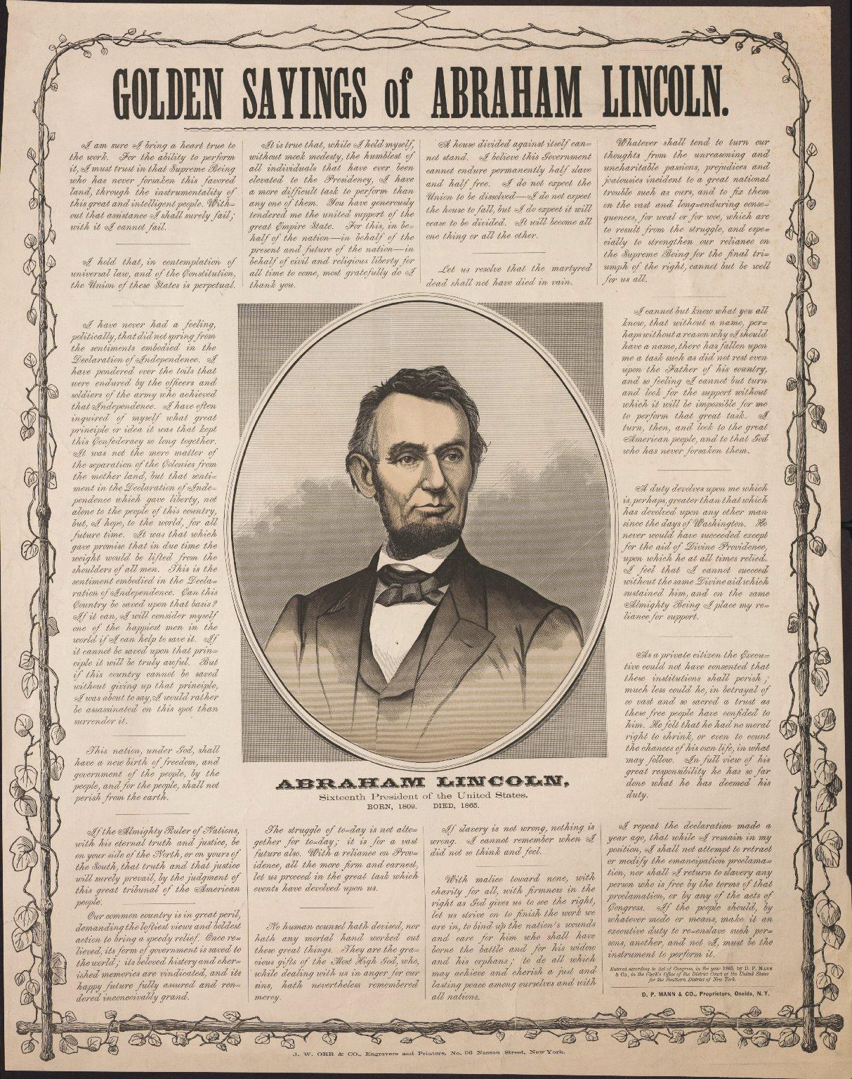 abraham lincoln essay for school