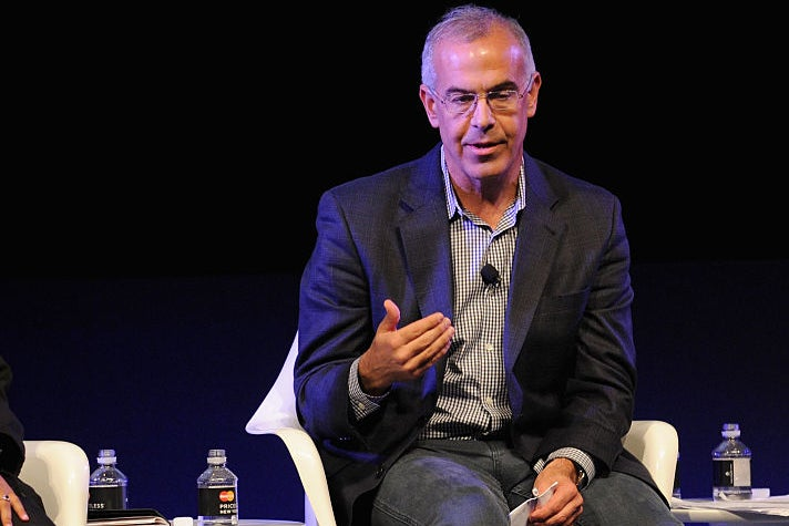 David Brooks at the New Yorker Festival in New York City on Oct. 11, 2014.