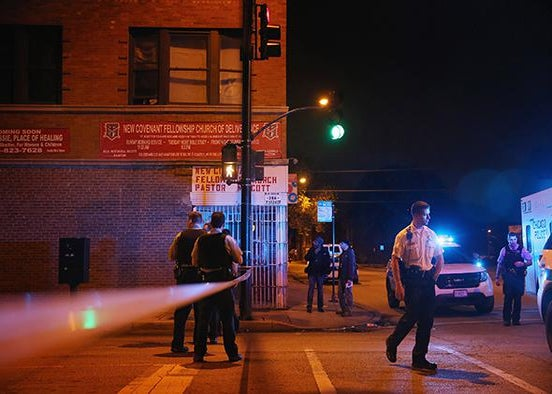 East Garfield Park, crime scene