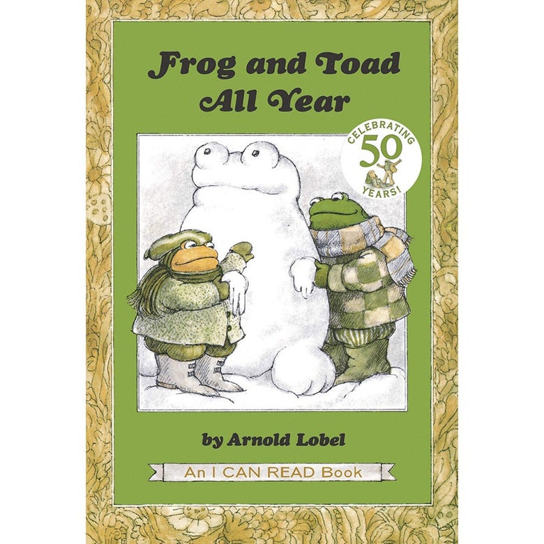 The cover of Frog and Toad All Year.