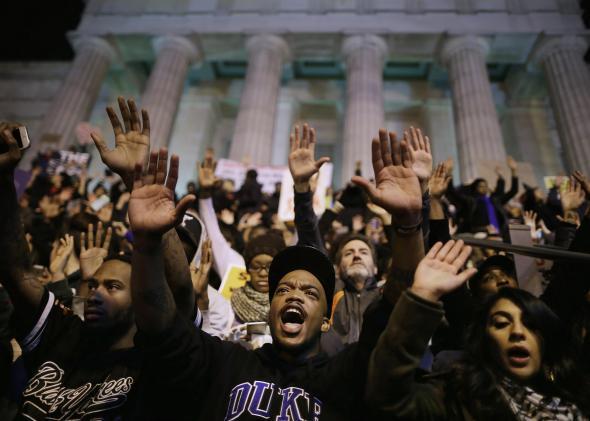 Ferguson protest Washington, D.C.
