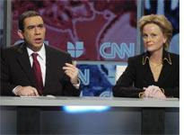 Fred Armisen and Amy Poehler on Saturday Night Live. Click image to expand.
