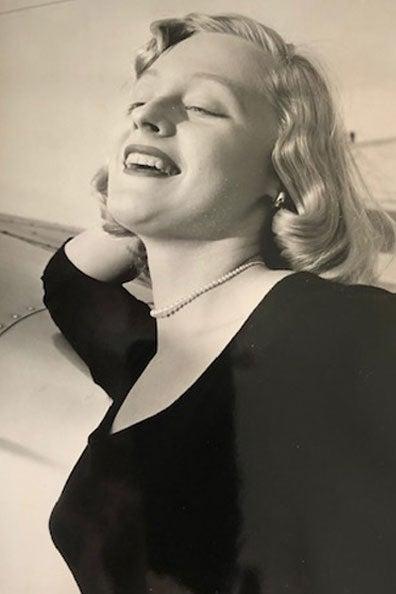 Glamorous model photo of Betty Jean Shea.
