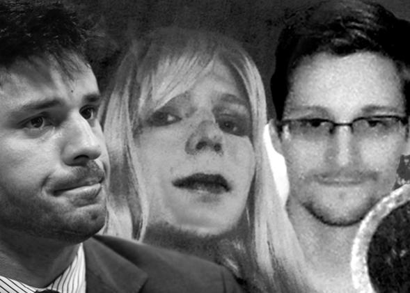 David Miranda, Chelsea Manning, Edward Snowden