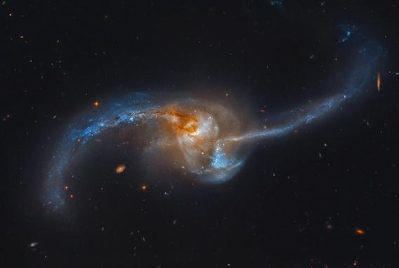 Hubble image of NGC 2623