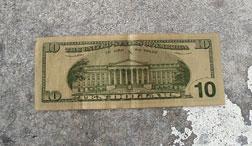 $10 bill.