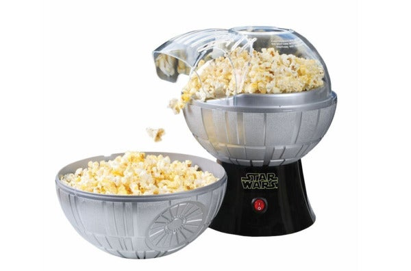 Star Wars Death Star Popcorn Maker – Hot Air Style with Removable Bowl.