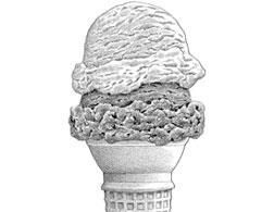 The double dip: good in ice cream, bad in the economy.