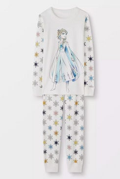 Hanna Andersson Disney Frozen 2 Long John Pajamas In Organic Cotton