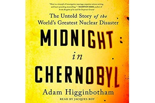 Audiobook cover of Midnight in Chernobyl.