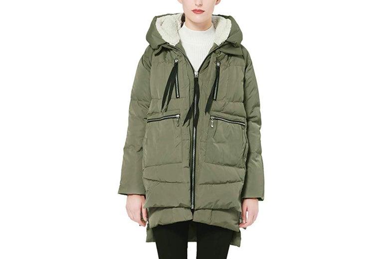 just a coat