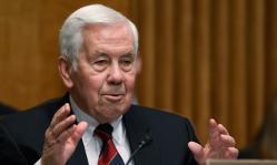 US Sen. Richard Lugar, R-IN.