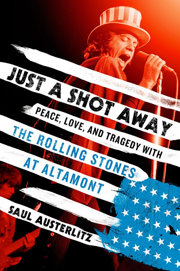 Book cover for Just A Shot Away by Saul Austerlitz. Credit: Thomas Dunne Books.