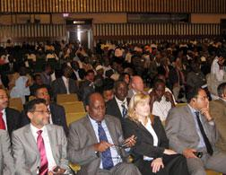 Opening session of the Somali parliament in Djibouti. Click image to expand.