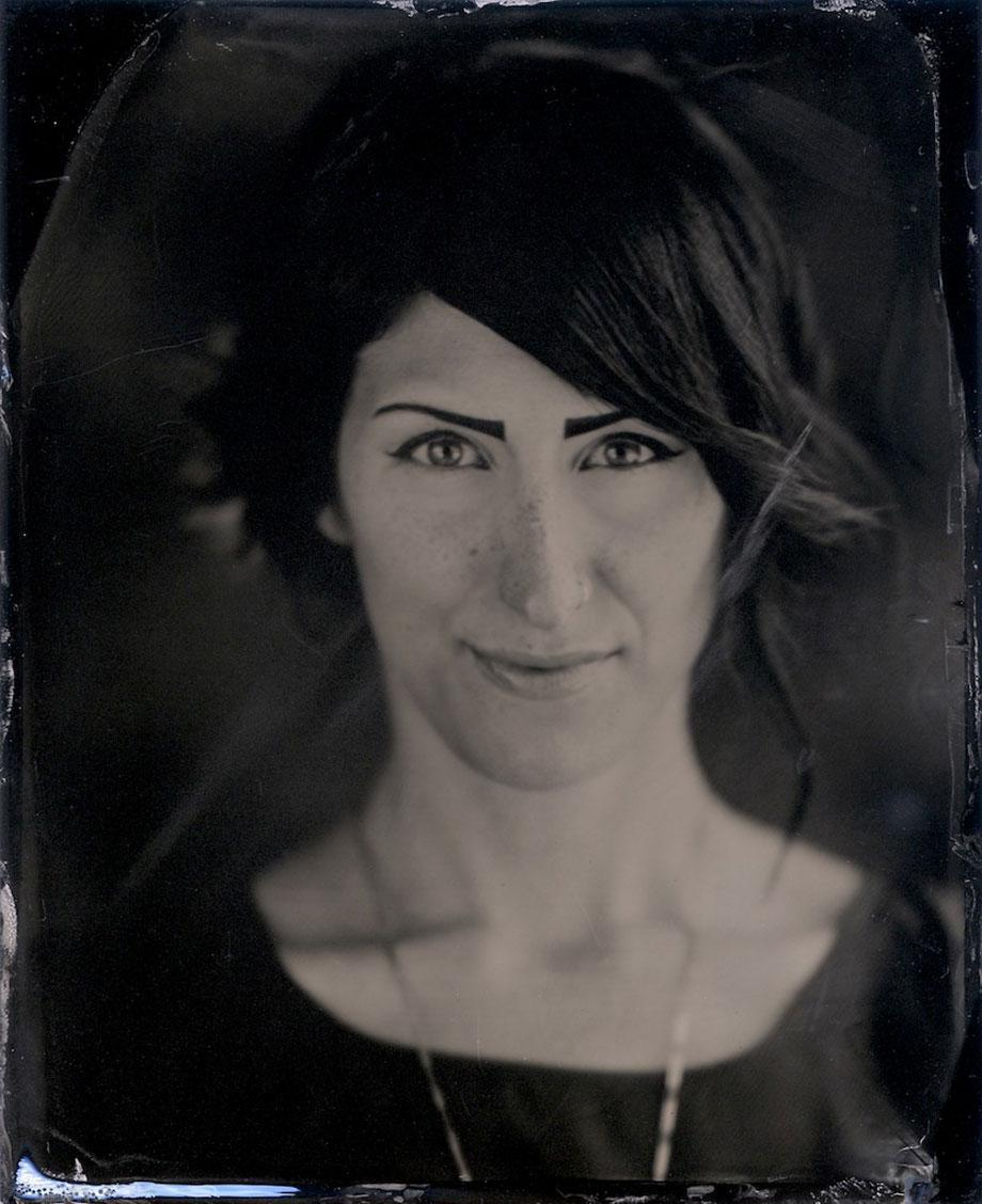 Harry Taylor's tintypes and ambrotypes.