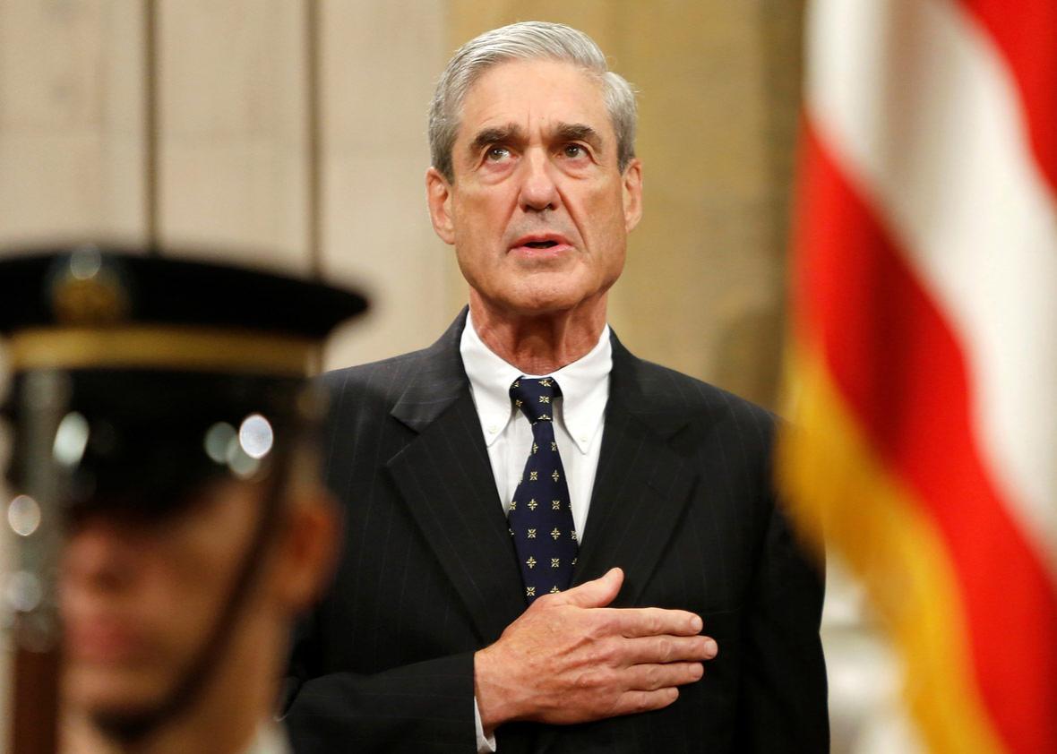 Outgoing FBI Director Robert Mueller