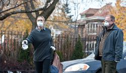 """Kate Winslet and Larry Clark star in the film """"Contagion."""" Click image to expand."""