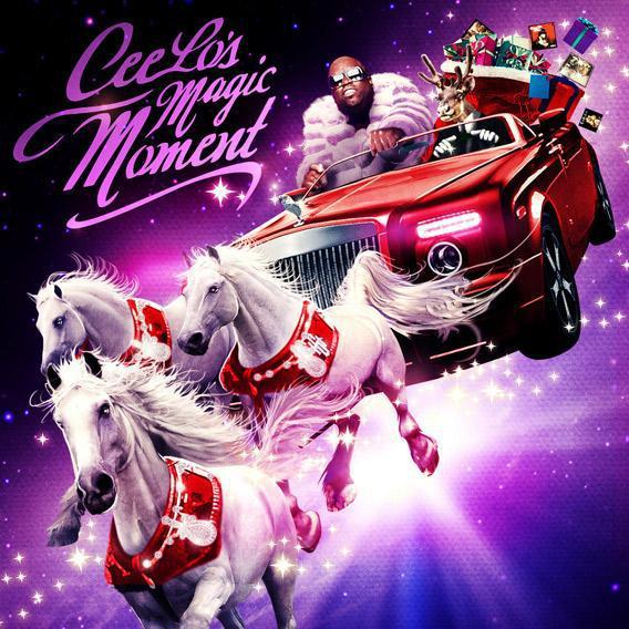 Cee Lo's Magic Moment Album Cover.