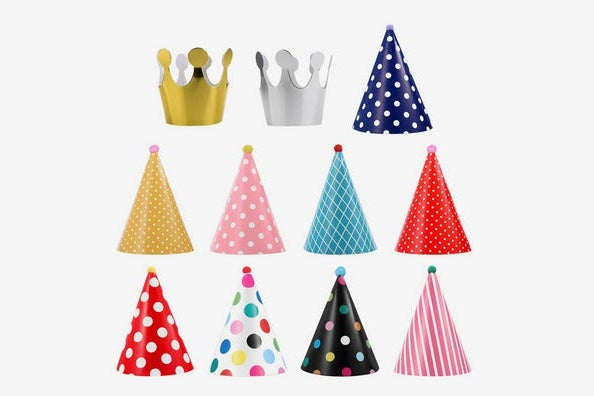 UEETEK Pet Birthday Party Cone Paper Hats
