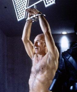 Patrick Stewart as Jean-Luc Picard in Star Trek: The Next Generation.