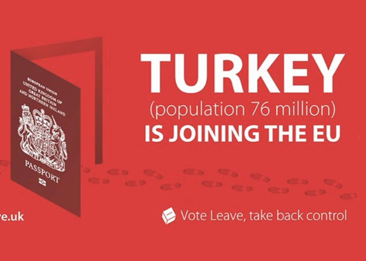 turkey vote leave.
