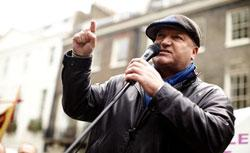 Bob Crow. Click image to expand.