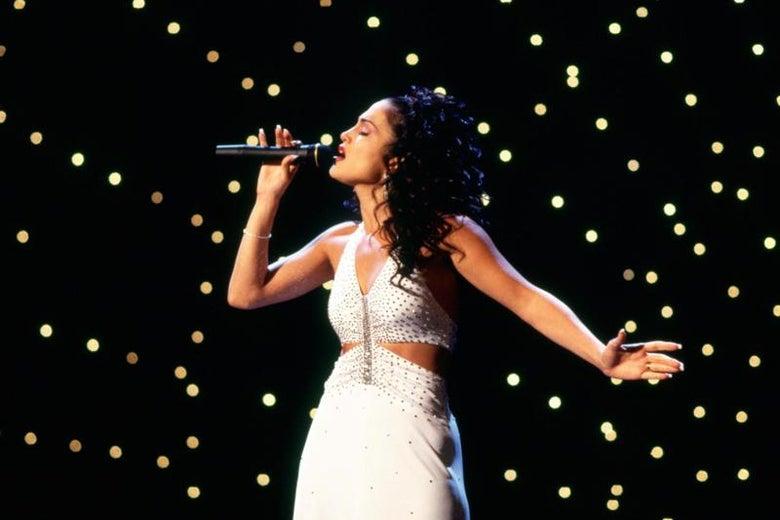 Jennifer Lopez as Selena.