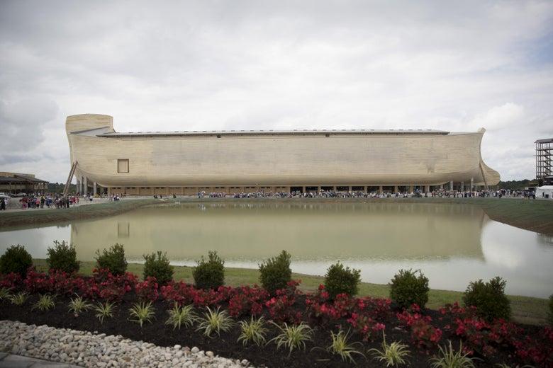 Owners of Noah's Ark Replica Sue Insurers Over Rain Damage