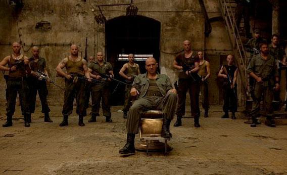 Ralph Fiennes in Coriolanus.
