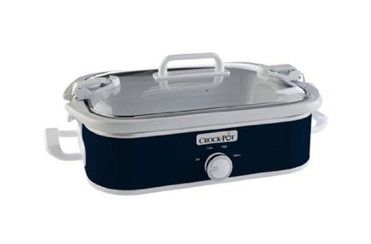 Crock-Pot 3.5-quart casserole slow cooker.