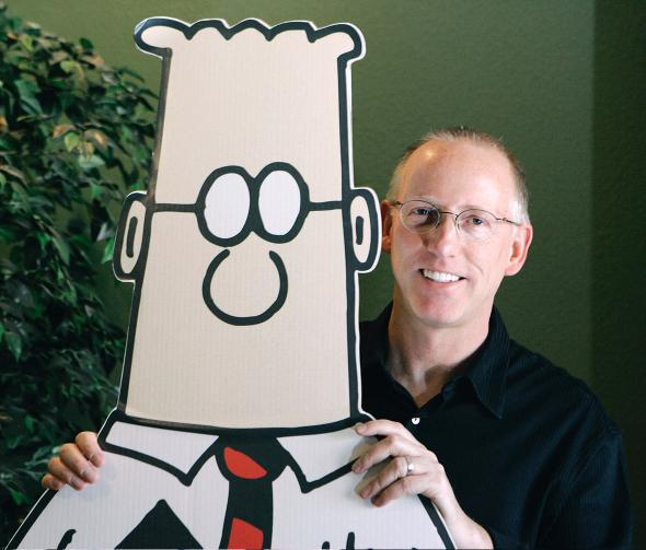 No One Understands Donald Trump Like the Horny Narcissist Who Created <em>Dilbert</em>